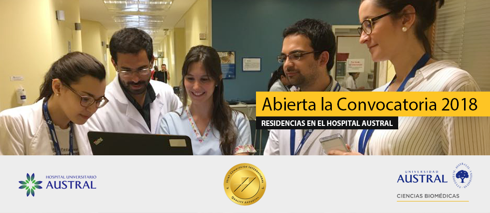 Residencias en el Hospital Universitario Austral | Convocatoria 2018 | Inscripción