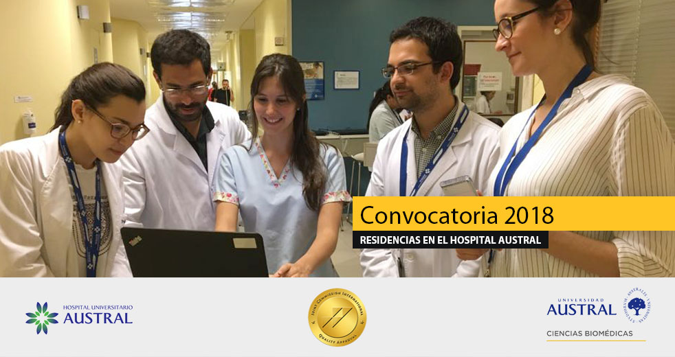 Residencias en el Hospital Universitario Austral | Convocatoria 2018